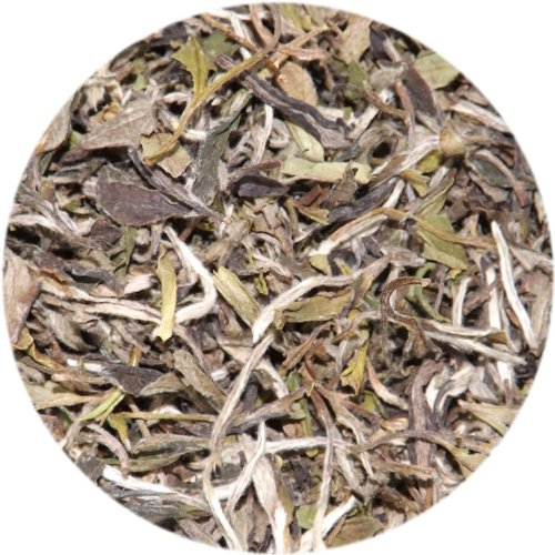 White Peony Loose Leaf Tea, Organic, Fair-Trade - 1/2 Lb Bag