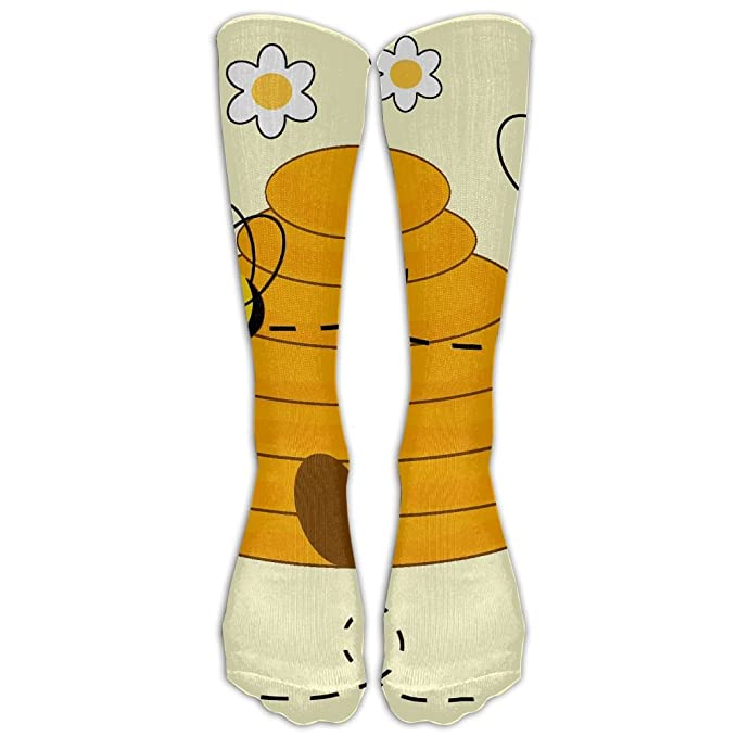 cheaper professional sale save up to 80% Amazon.com: Long Socks Cute Bumblebee Funny Pattern ...