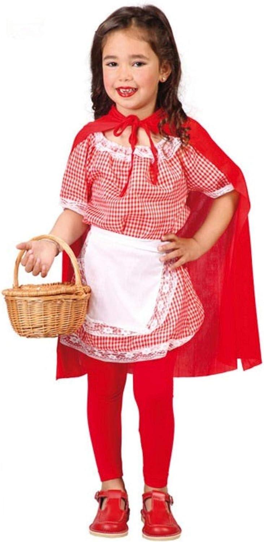 Guirca grafoplas SL. – Traje de roja niña 7/9 años, Color Blanco ...