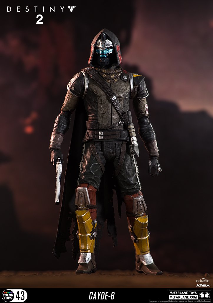 McFarlane Toys 13040-9 Destiny 2 Cayde 6 Collectible Action Figure by McFarlane Toys (Image #5)