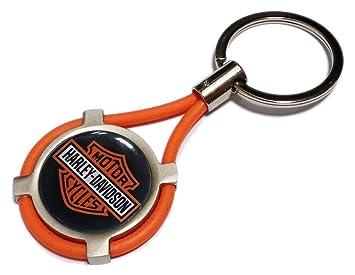 Llavero Harley Davidson, llavero para coche y moto: Amazon ...