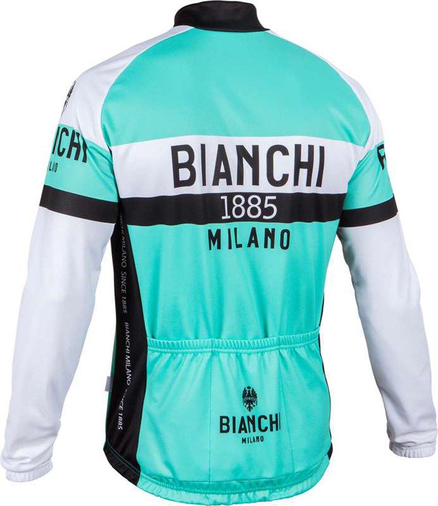 871f9428e Bianchi-Milano Curno Long Sleeve Cycling Jersey - Celeste (X-Large)   Amazon.co.uk  Sports   Outdoors