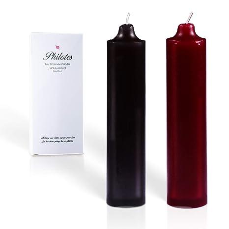 Amazon.com: Philotes velas de baja temperatura, románticas ...