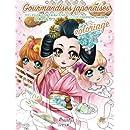 Gourmandises japonaises Coloriage (French Edition)