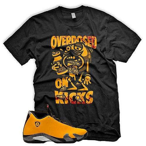 a0e04a5c7c828 New OVERDOSED ON KICKS T Shirt for Jordan 14 Xiv ... - Amazon.com
