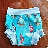 Zilee Baby Swim Diaper Swim Trunk Reusable Briefs