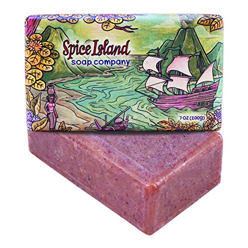 Spice Island Soap Co. - Natural Bar Soap, Exotic Spices (Sandalwood, Vanilla & Cinnamon), 7 ()