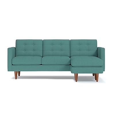 Apt2B Lexington Reversible Chaise Sofa, Seafoam