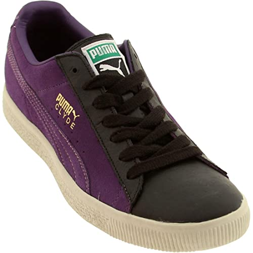 half off df9f4 792b4 PUMA - Clyde Purple Nurple Mens Sneakers, Size: 8.5, Color ...