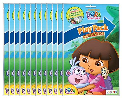 Dora the Explorer Grab & Go Play Packs (Pack of 12) -