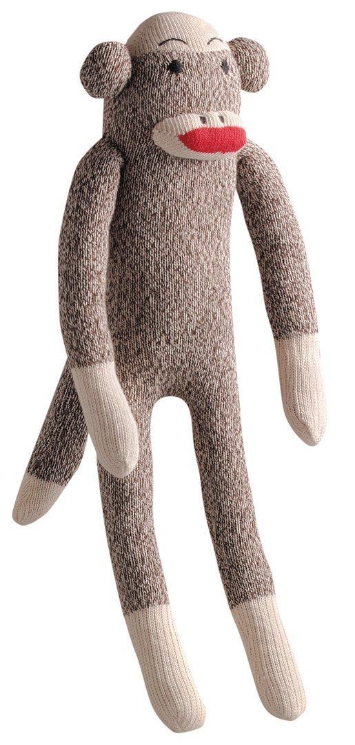 "Multipet Sock Pal Monkey 10"""