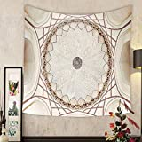 Grace Little Custom tapestry symmetrical ceiling dome pattern in india