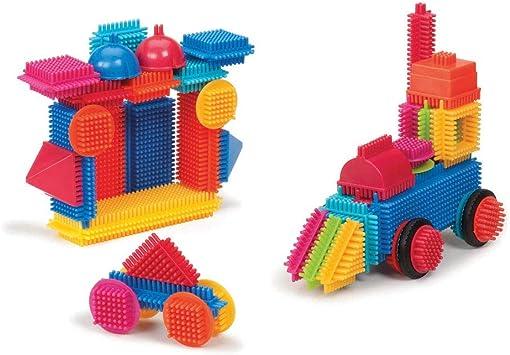 sélectionner pour le meilleur véritable comment avoir Bristle Blocks BA3068Z - Jeu De Construction 1er âge - Tube 50 Pièces