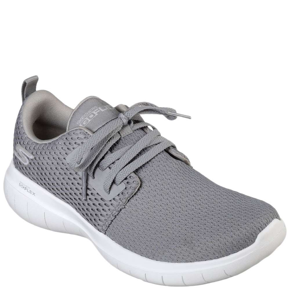 Skechers Go Flex Walking Shoes for Women, Grey 8 US