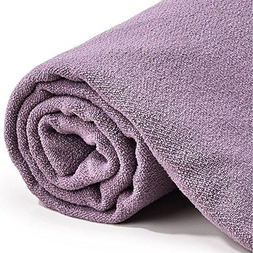 Review Hot Yoga Towel – Quick Drying, Non Slip, Sweat Absorbing Hot Yoga and Bikram Towel