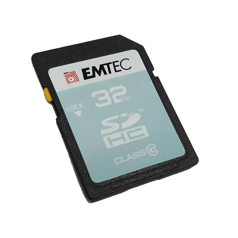 Emtec SD Tarjeta SDHC 32 GB Class 10 Tarjeta de Memoria para Canon ...