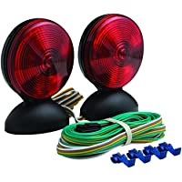 Optronics TL22RK Magnetic Mount Towing Light Kit, Red