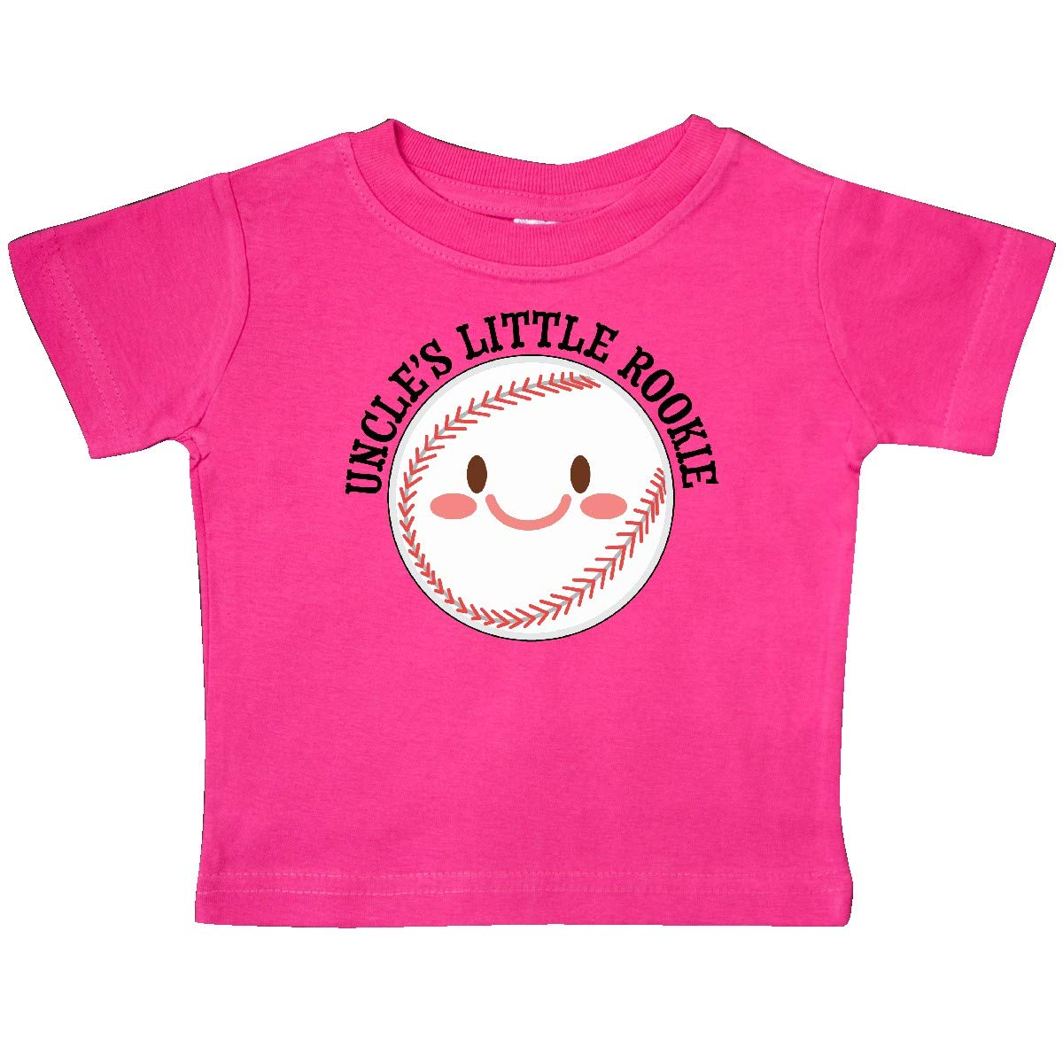 inktastic Uncles Little Rookie Baseball Baby T-Shirt