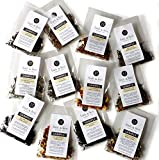 12 Tea Sampler Set | Organic, Loose Leaf Tea by Finch & Fern