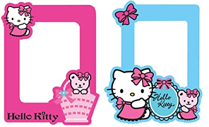 c9b7b1a2b2a1e Decofun G&B Foam Wall Frames Hello Kitty 70-009: Amazon.co.uk ...