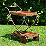 Harper Blvd Larson Outdoor Serving Cart