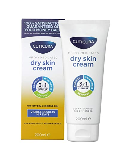 Image result for Cuticura Mildly Medicated Dry Skin Cream""