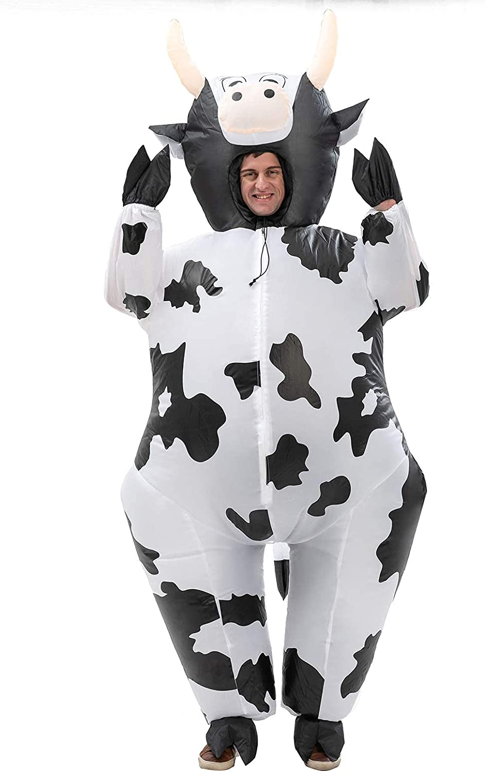 HHARTS Dairy Cattle Inflatable Costume Fashionable up In stock Fa Blow Animal