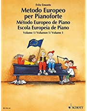 Metodo europeo per pianoforte. Ediz. multilingue. Per la Scuola media: 1