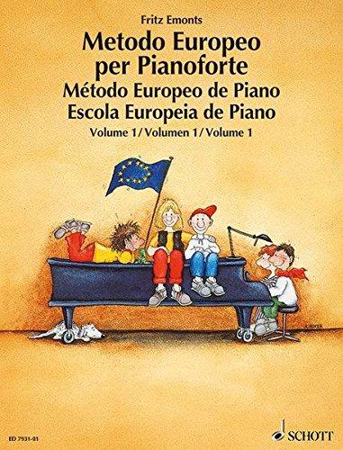 Metodo europeo per pianoforte. Ediz. multilingue. Per la Scuola media: 1 (Inglese) Copertina flessibile – 1 apr 1996 Fritz Emonts Schott & Co 3795753244 MUSICA