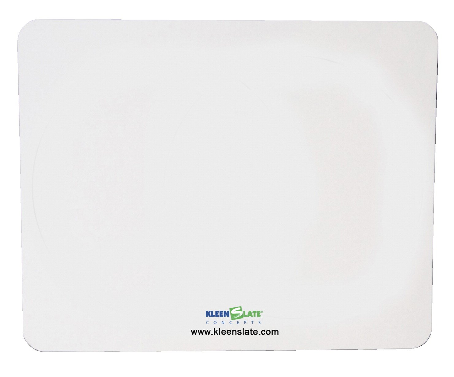 Kleenslate 1438931 Blank Dry Erase Paddle Replacement Sheet, Rectangular, 8'' x 10'' Size