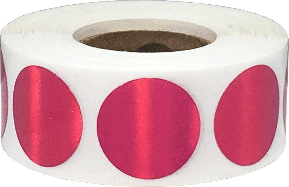 Marrone Kraft Cerchio Punto Adesivi, 19 mm 3/4 Pollice Rotondo, 500 Etichette su Rotolo InStockLabels.com