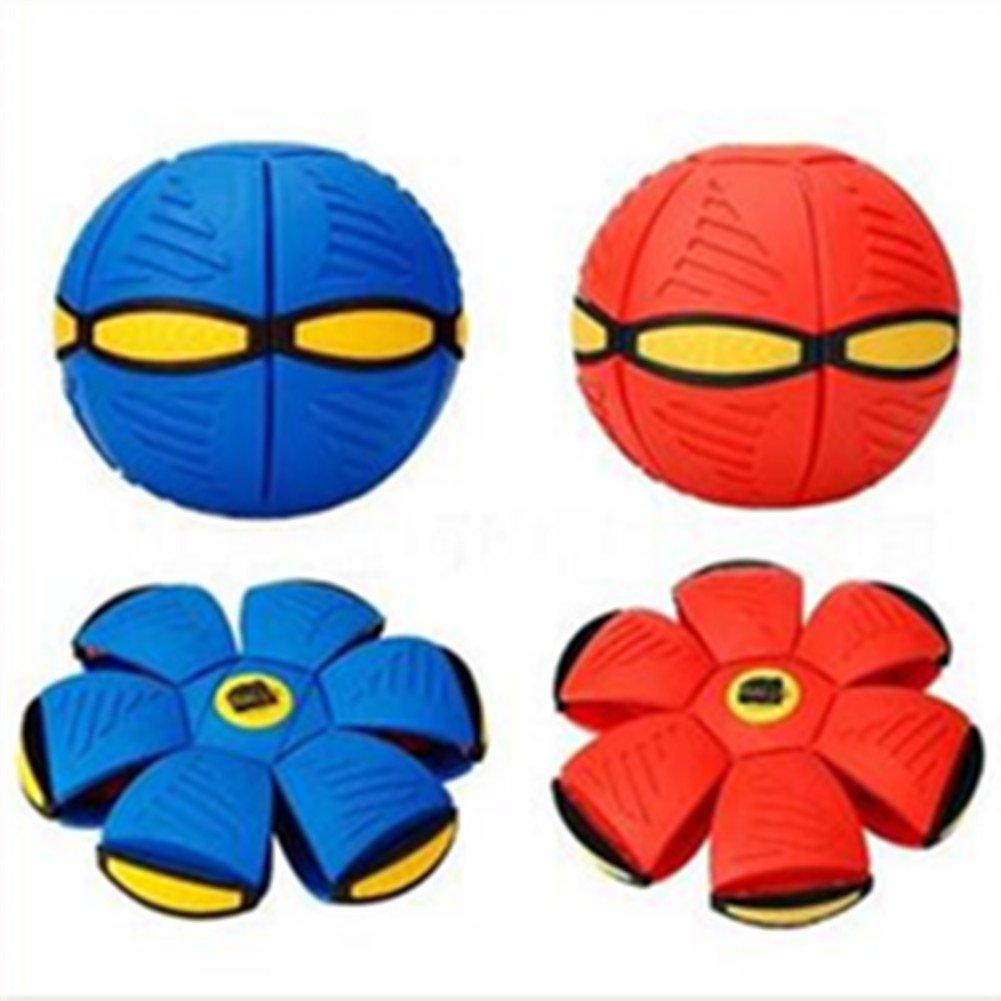 Fantasie UFO Rüschen Flach Tagesdecke Scheibe Spielzeug -Ei Kostüm flexibel für draußen für kinder Spiderman - Blau Dee-In T-0001