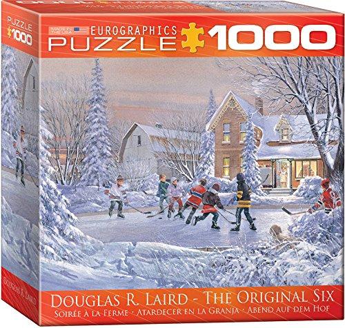 EuroGraphics The Original Six Puzzle (8000 Jigsaw Puzzle)