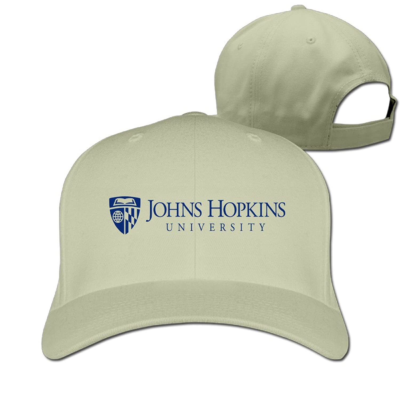 MZONE Cute Johns Hopkins JHU University Adult Hip Hop Caps Black