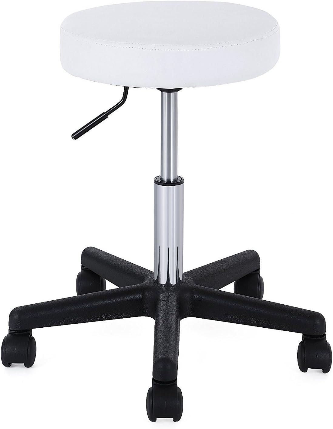 La sedia spagnola Sgabello 35x35x63 cm bianco