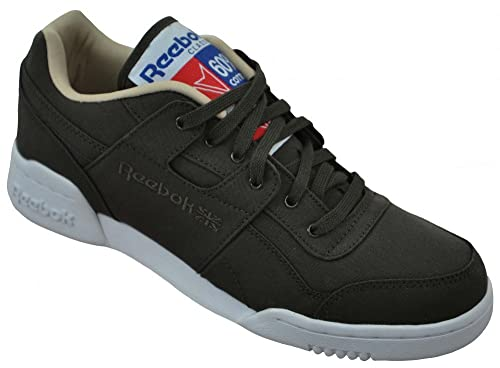 b8169d088df Reebok Workout Plus 60 40 Mens Classic Sneaker Sports Shoes Brown ...