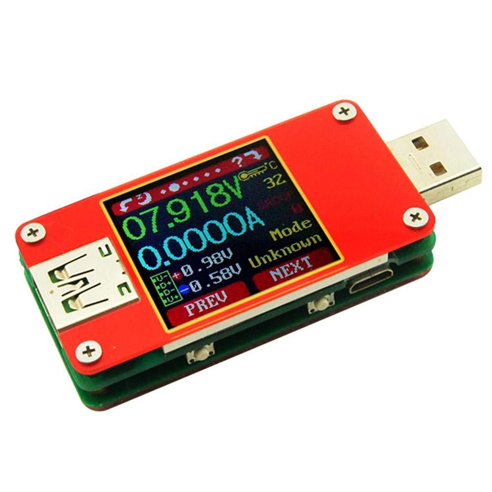 Matefield UT25 per App USB 2.0 Tipo C LCD voltmetro Tensione misuratore di Corrente