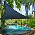 """2nd Generation 12' X 12' X 12"""" Sun Shade Sail Uv Top Outdoor Canopy Patio Lawn Triangle Dark Blue by windscreen4less"""