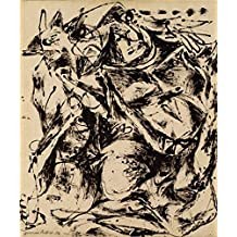 Canvas Prints Of Oil Painting ' Jackson Pollock,No.6,1952 ' , 20 x 24 inch / 51 x 61 cm , High Quality Polyster Canvas Is For Gifts And Bath Room, Hallway And Home Theater Decoration, graphy
