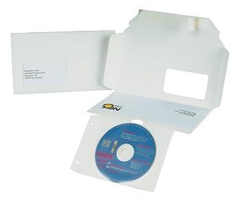 Nips 146151001 CD/DVD - 3 Estuches para envío con ventana ...