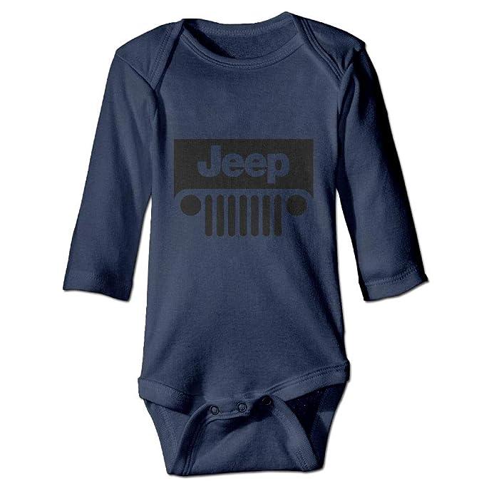 53348f317 Amazon.com  Jeep Long Sleeve Baby Onesies Bodysuit Baby Clothes ...