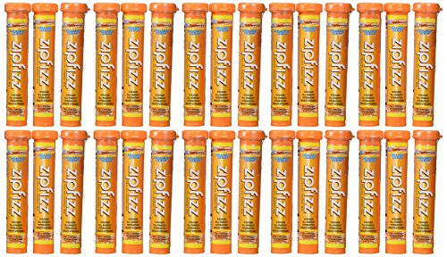 Zipfizz Orange Soda Healthy Energy Drink Mix – Transform Your Water Into a Healthy Energy Drink – 30 Orange Soda Tubes