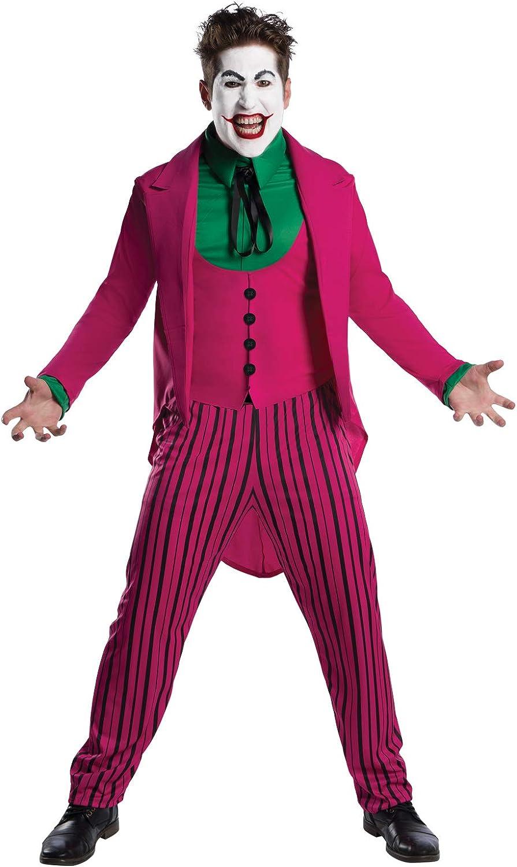 Rubies-DC Comic The Joker 1966 Version Disfraz, multicolor ...