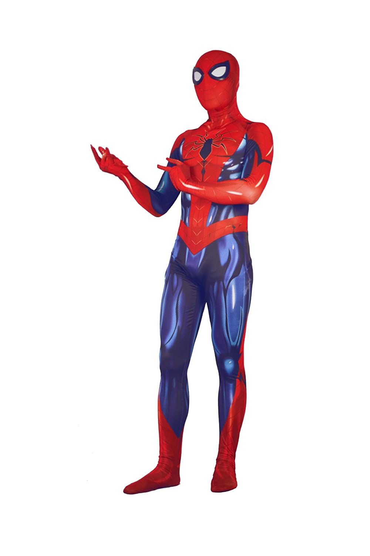 Alwoe Cosplay Costumes Halloween Lycra Spandex 3D Style Mens Kids//Adult
