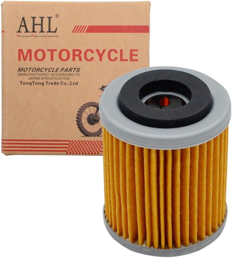 AHL 142 /Ölfilter f/ür Yamaha WR400F WR400 F 1998-2002 Gelb,1 St/ück