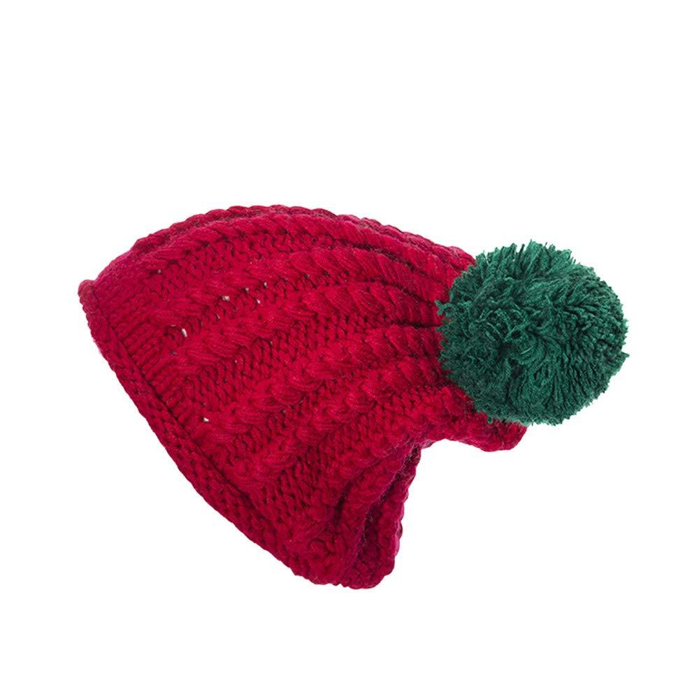 LILICAT® Mujer Invierno Beanie Hat Gorro de Punto para Mujer Moda ...