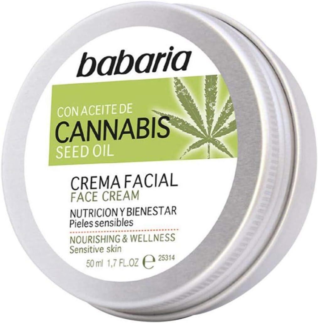 Babaria, Mascarilla hidratante y rejuvenecedora para la cara - 50 ml.