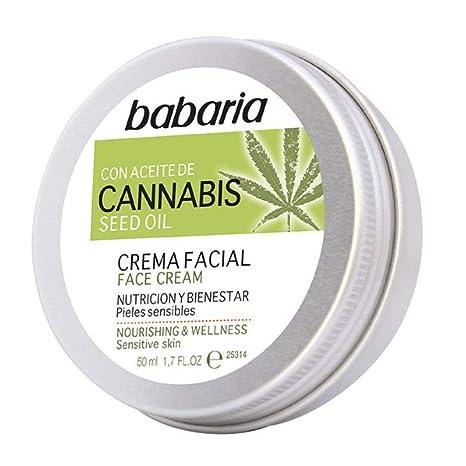 babaria Cannabis Feuchigkeitspflege Gesicht 50 ml