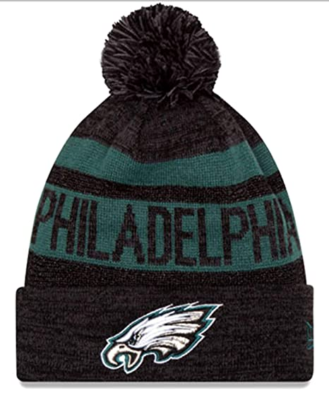 Image Unavailable. Image not available for. Color  New Era Authentic  Metallic Philadelphia Eagles Sport Knit NFL Beanie ... 4b5aadc9ee6e