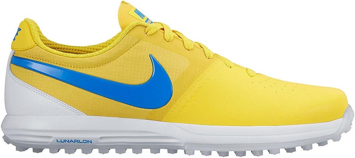 Ventilación Acrobacia Mojado  Nike New Mens Lunar Mont Royal Golf Shoes Maize Yellow/Blue/White Sz 10 M:  Amazon.ca: Clothing & Accessories